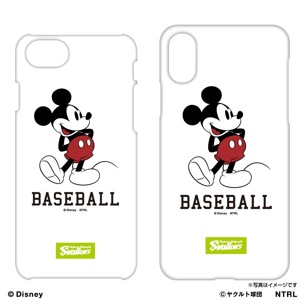 スワローズ×ミッキーマウスBASEBALL iPhoneケース