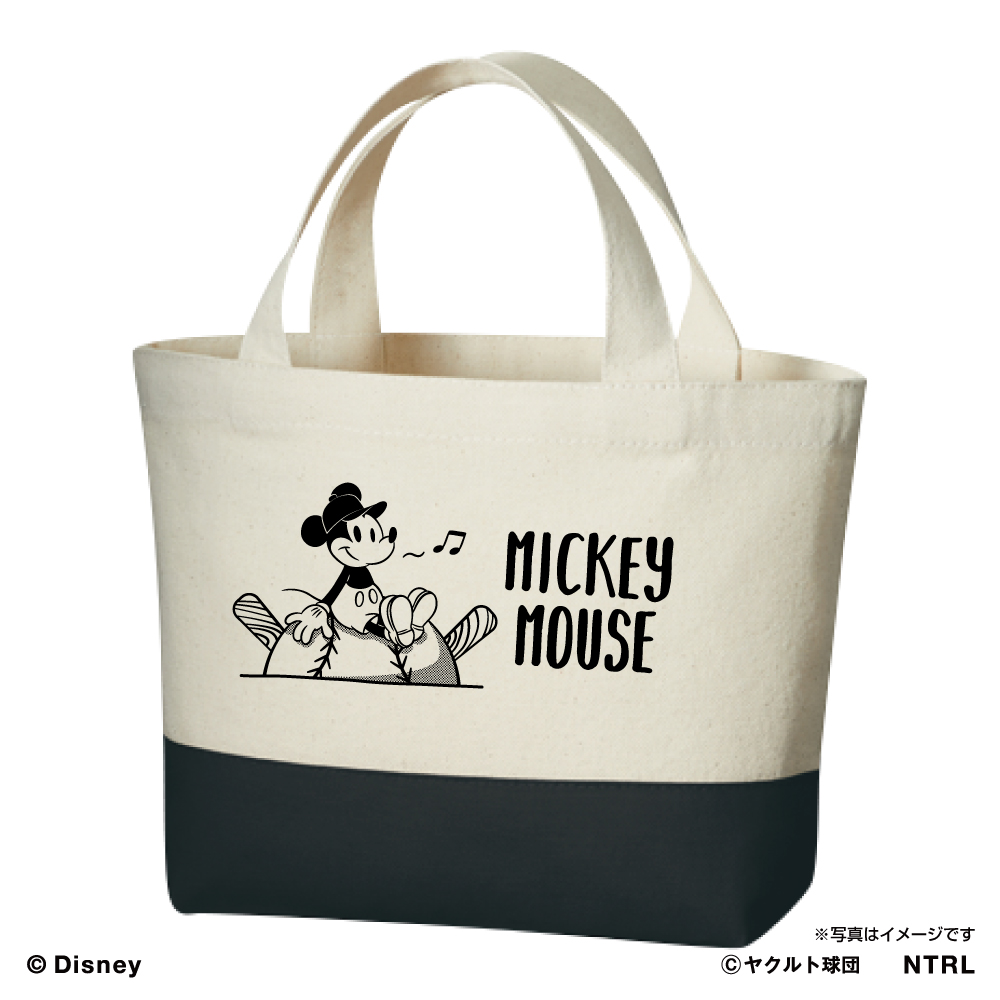 スワローズ×ミッキーマウスひとやすみランチバッグ