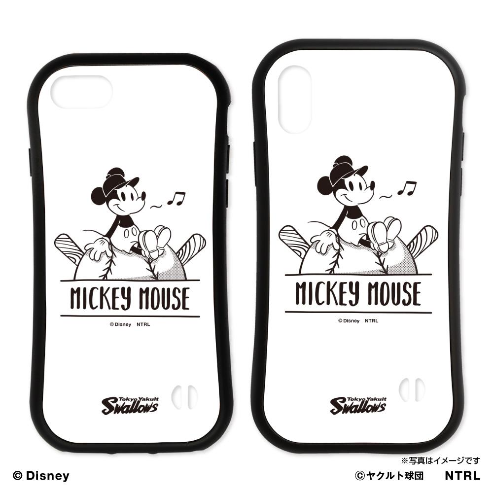 スワローズ×ミッキーマウスひとやすみラバーエッジiPhoneケース