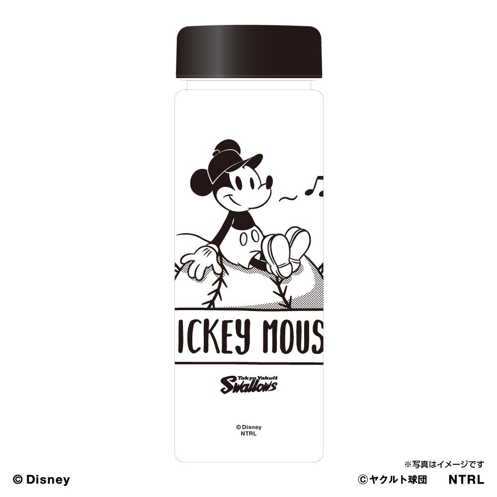 スワローズ×ミッキーマウスひとやすみスリムクリアボトル