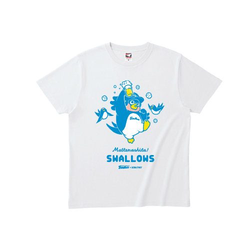 SWALLOWS × BIRDSTORY (ビール) Tシャツ